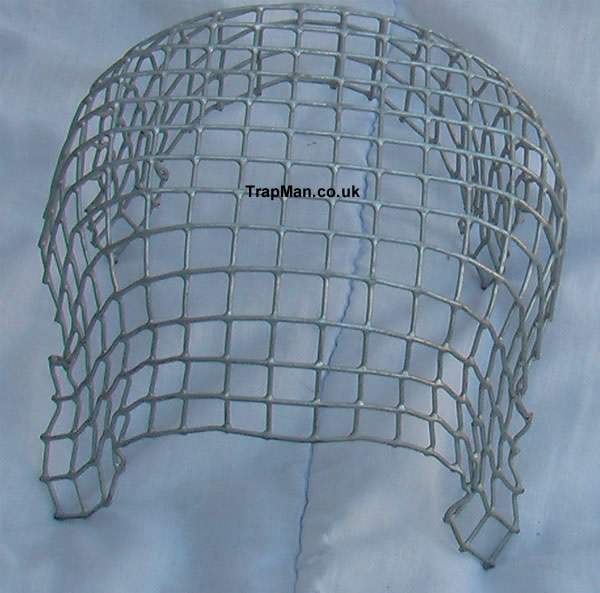 "6"" wire mesh balloon chimney cowl, wire mesh birdguard, wire ballon guard 