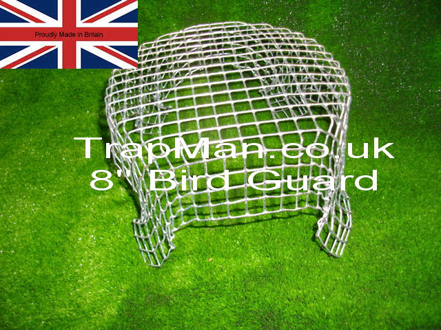 wire mesh eight inch chimney balloon guard