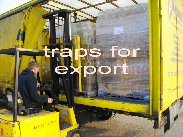 loading traps for export