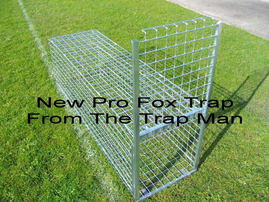 New Pro Fox Trap Made In England New Professional Fox Trap