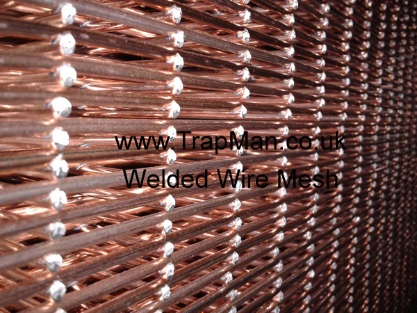 This welded wire is made in the UK and is prime quality, not the usual imported crap.