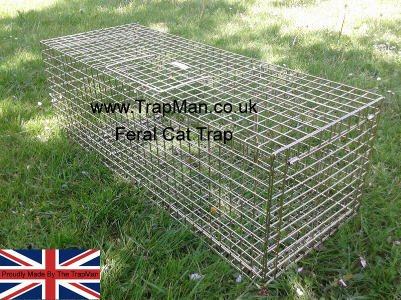 Feral cat traps proudly made in England by The TrapMan