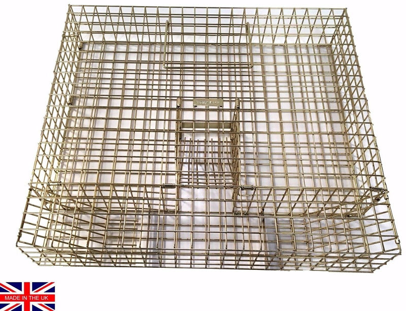 Large multi catch grey squirrel trap