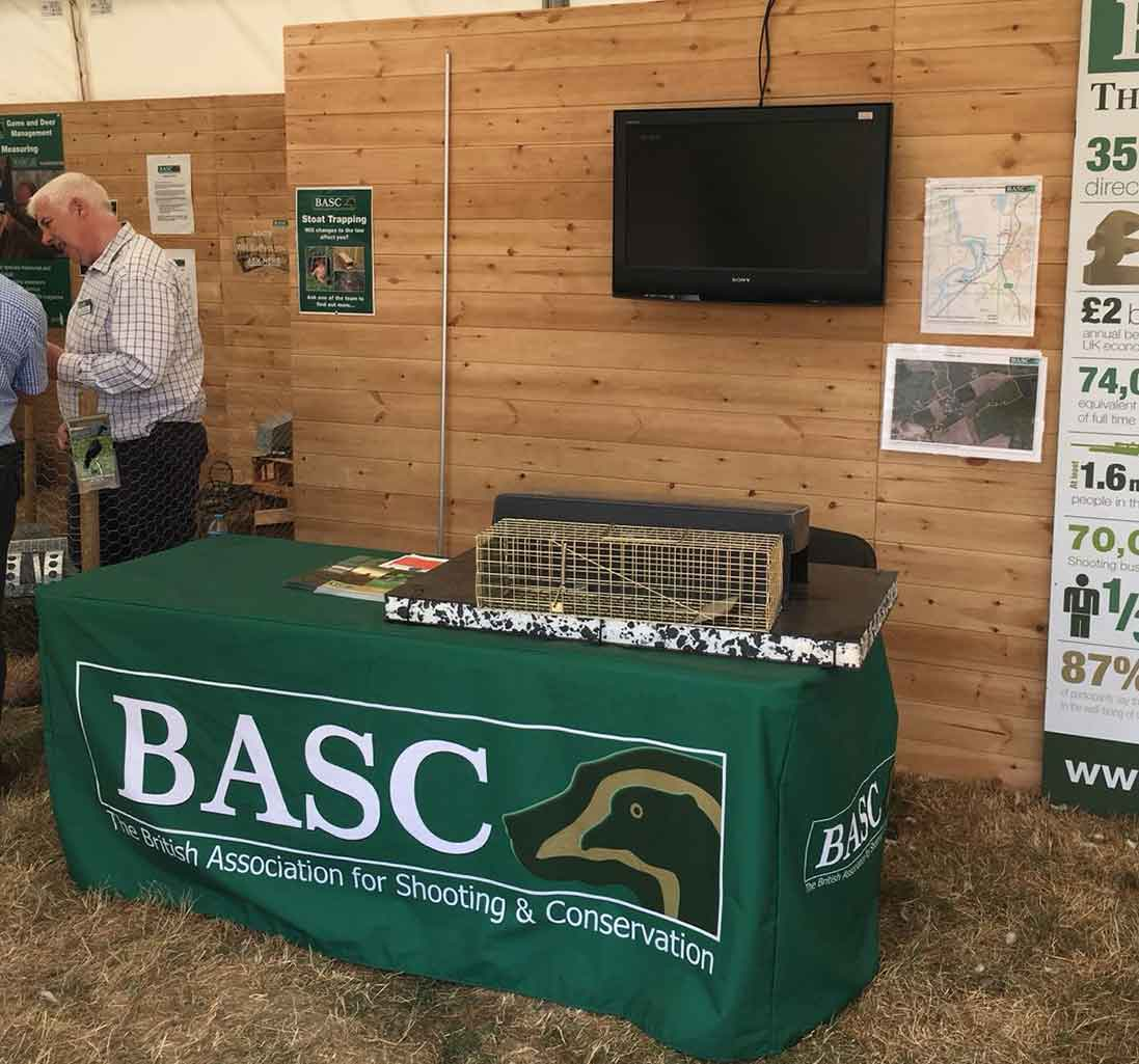 BASC showcase our mink trap