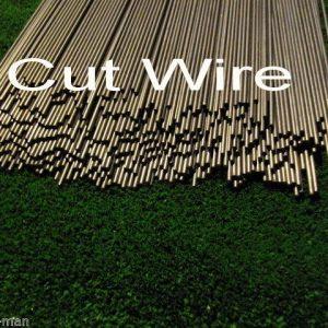 """Straightened wire mild steel bar 4mm dia 450mm long steel rod by The TrapMan Straightened wire mild steel bar 4mm diameter x 450mm (18"""") long in bundles of 10"""