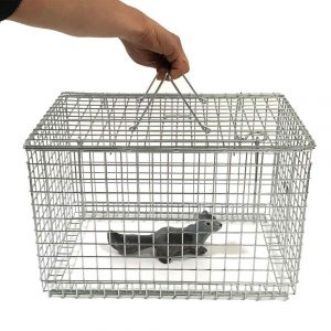 TrapMan drop over cat basket with sliding base