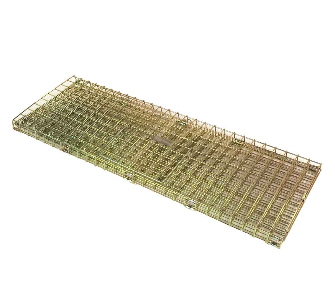 Single Catch Wood Pigeon Trap Simple Treadle Operated