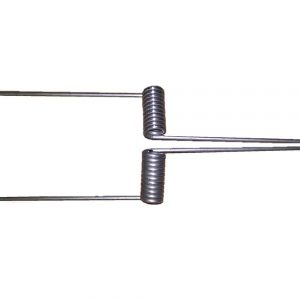 pair of larsen trap springs, heavy duty, larsen trap, crow trap, magpie trap