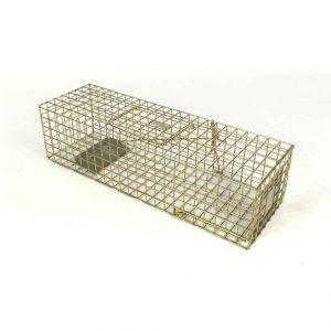 pro mink, mink trap, heavy duty mink trap, live capture mink trap