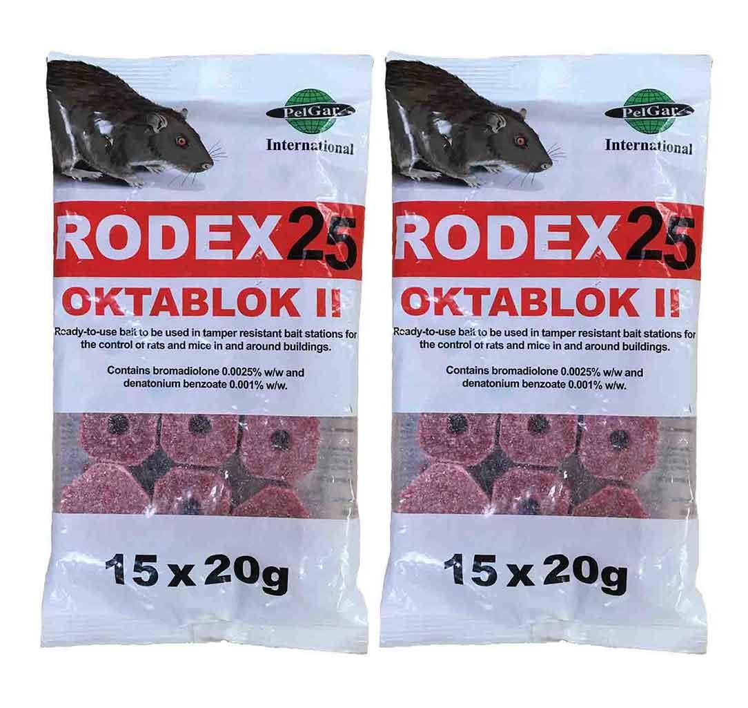 30 X Oktablock rat poison