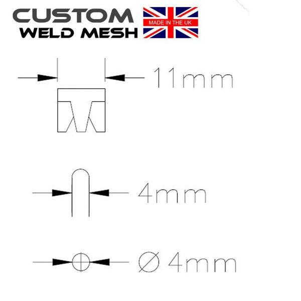 small clip dimensions